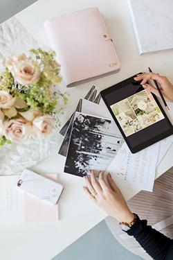 Kit d'organisation d'une wedding planner