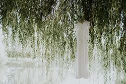 robe de la mariée créée par Constance Chevalier