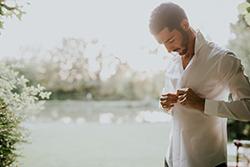 Préparation de marié