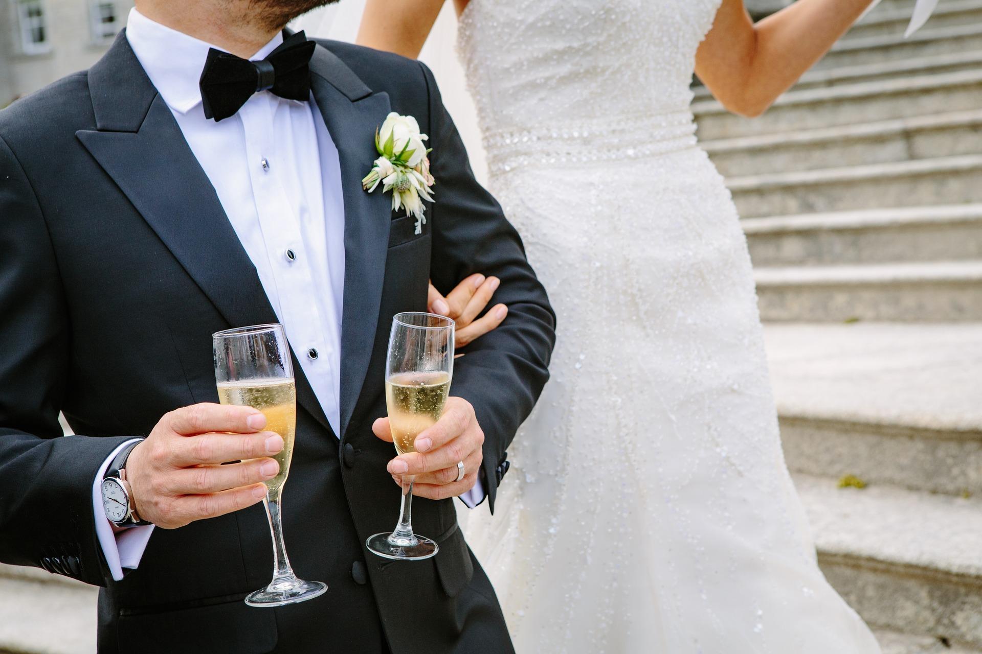 Vin d'honneur mariage célébration