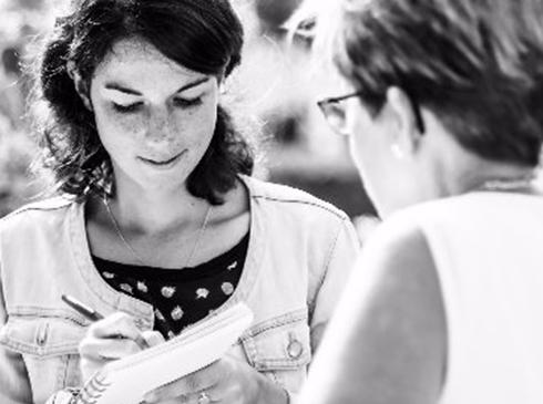 La scribeuse écrivain de mariage artiste mariage