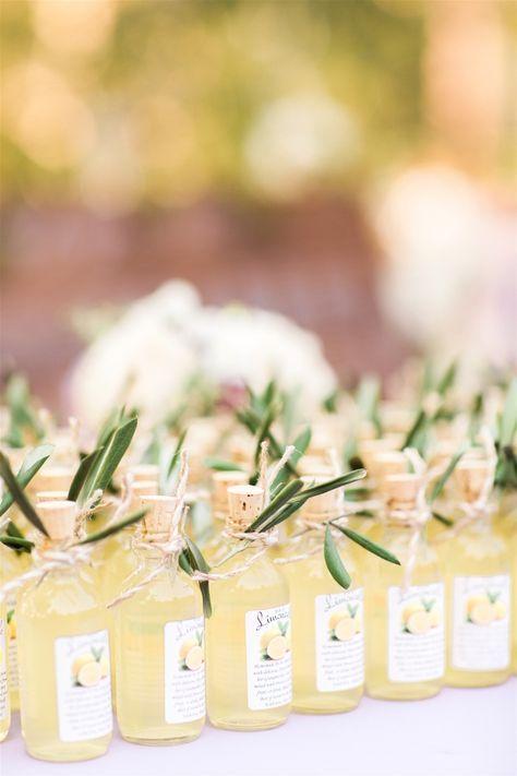 Mini bouteille limonade cadeaux invités