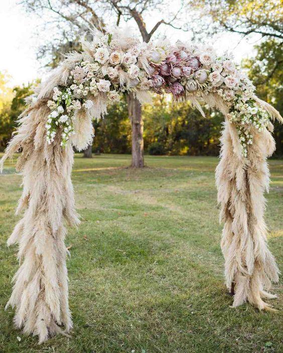 Arche laïque fleurie mariage cérémonie laïque