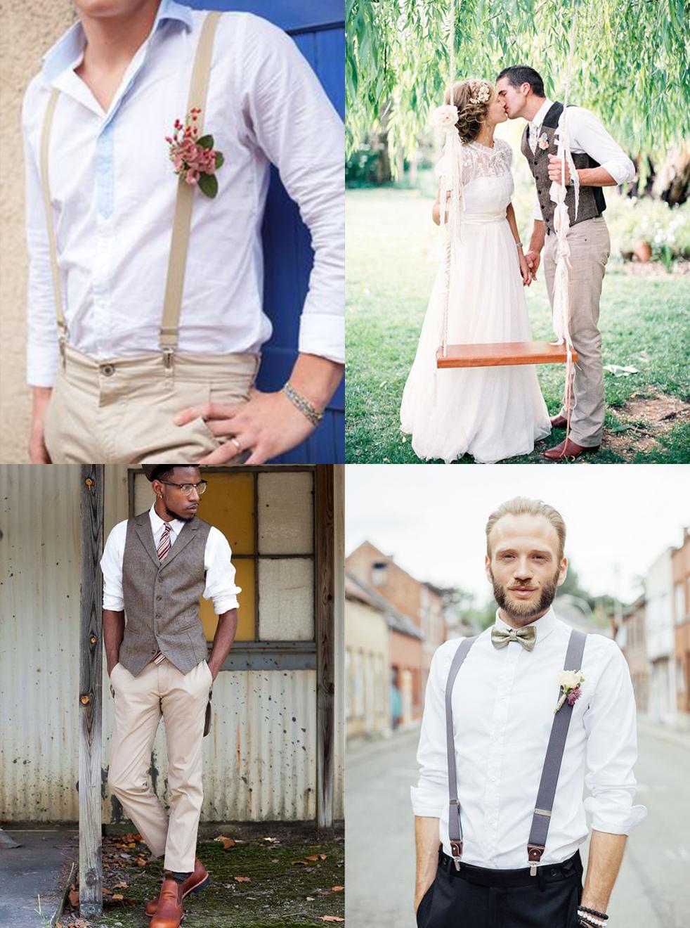 costume homme inspiration mariage bohème