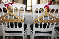 Décoration de mariage - Hauts-de-france