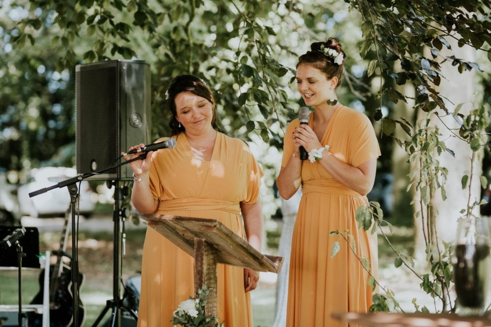 discours témoin mariage