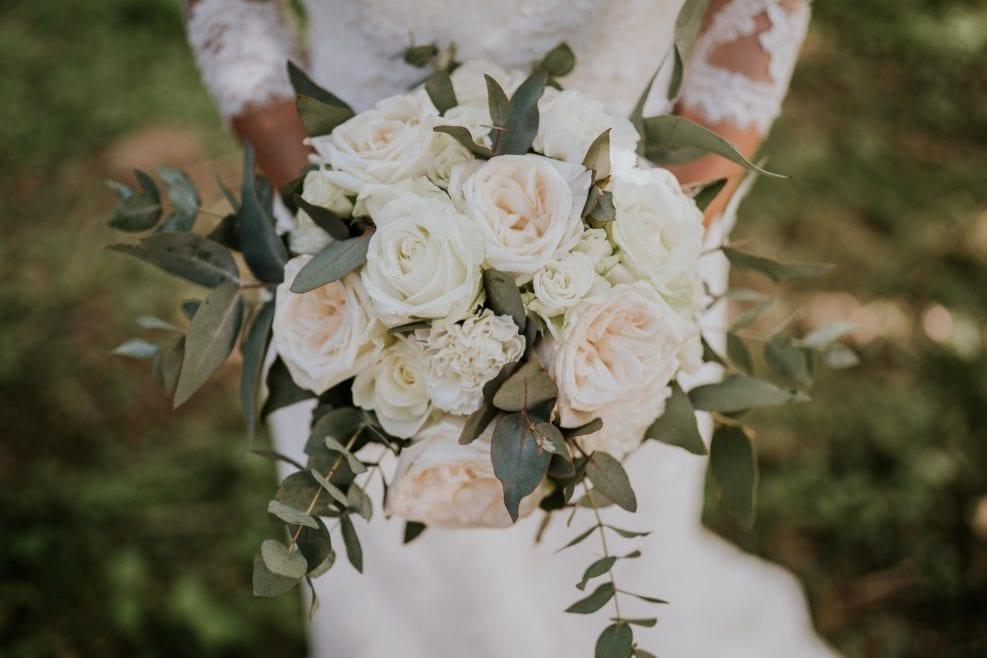 bouquet mariée eucalyptus
