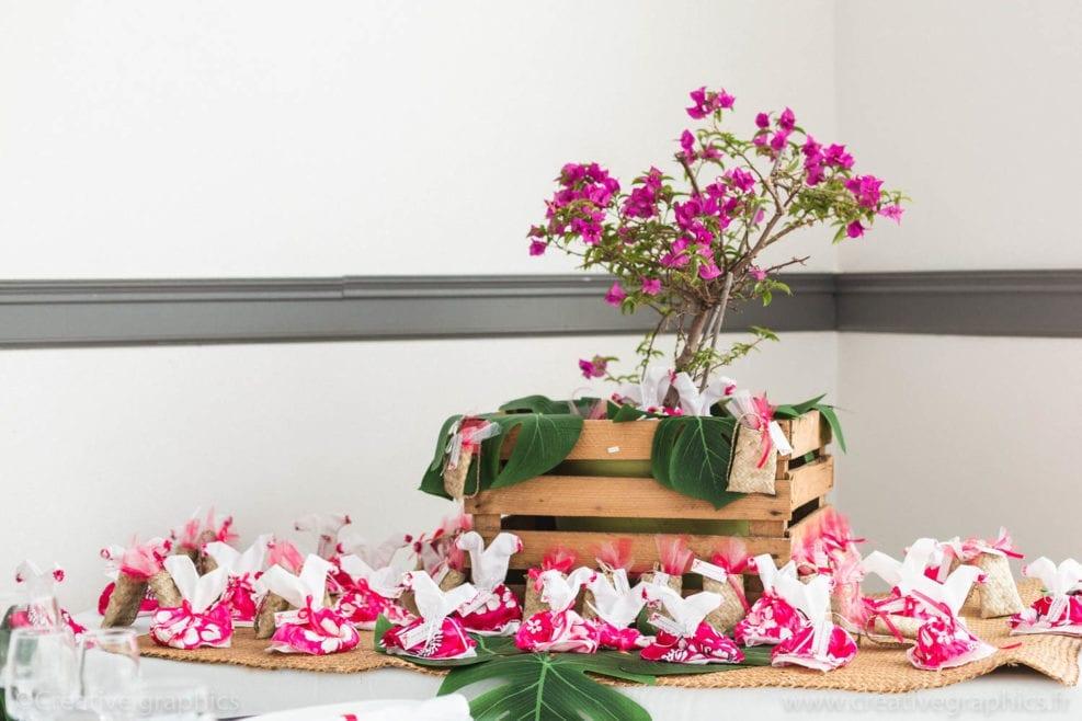 decoration tropicale