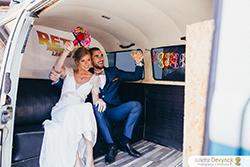 Combi-photo pour mariage sur le thème Back to 80s