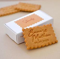 biscuit type lu personnalisés
