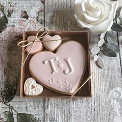 biscuits glaçage personnalisé mariage