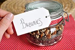 Bocal préparation brownies