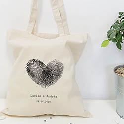 tote bag personnalisé cadeau invités