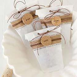sachets handmade de thé à infuser