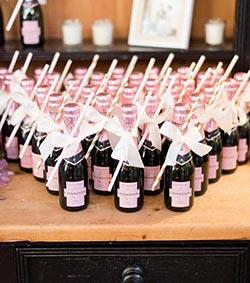 mini bouteilles de champagne