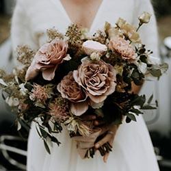 Couleur vieux rose pour un mariage
