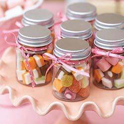 bocal bonbon enfant mariage