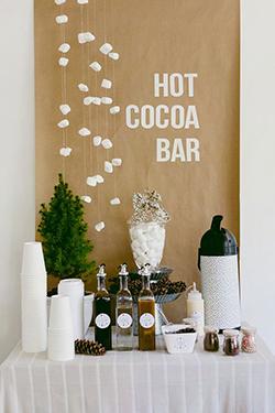 bars à chocolat mariage