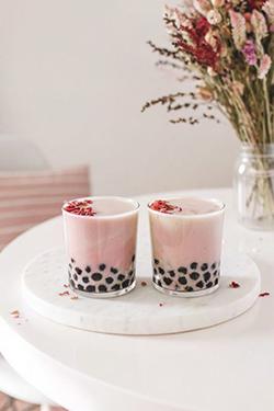 Bubble tea pour bars de mariages