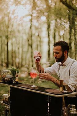 viabar, service de barman et bar éphémère pour mariage