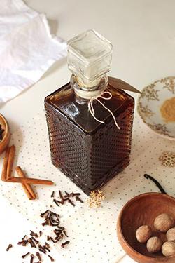 bouteille de rhum arrangé épices et vanille