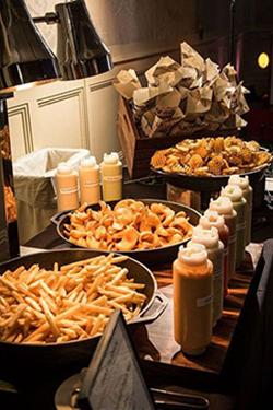 Bar à frites pour mariage