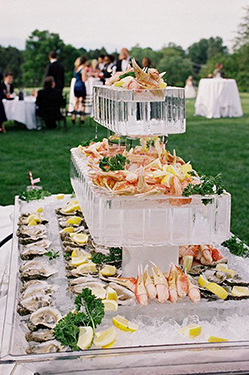 Bar à huitres et fruits de mer mariage