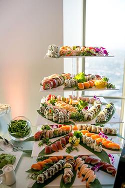 Bar à sushis mariage