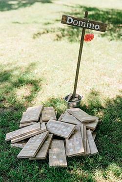 Jeux de bois enfant mariage