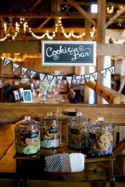 cookie bar de mariage