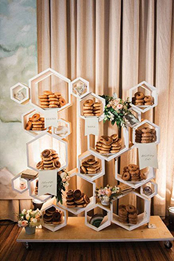 Bar de donuts mariage