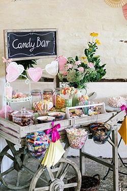 Candy bar enfant mariage