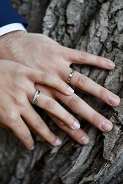 Les alliances du mariage